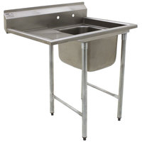 Eagle Group 314-16-1-18 One Compartment Stainless Steel Commercial Sink with One Drainboard - 44 7/8 inch