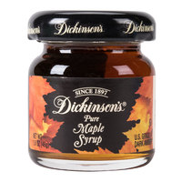 Dickinson's 1.6 oz. Pure Maple Syrup   - 72/Case