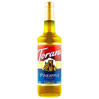 Torani 750 mL Pineapple Flavoring Syrup