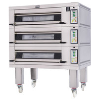 Doyon 2T2 Artisan 2 Stone 37 1/2 inch Deck Oven - 4 Pan Capacity