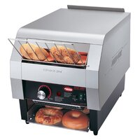 Hatco TQ-1800BA Toast Qwik One Side Conveyor Toaster - 2 inch Opening