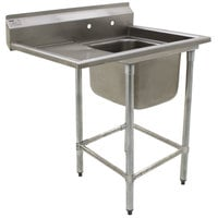 Eagle Group FN2016-1-18-14/3 One 20 inch x 16 inch Bowl Stainless Steel Spec-Master Commercial Compartment Sink with 18 inch Drainboard