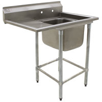 Eagle Group FN2820-1-24-14/3 One 28 inch x 20 inch Bowl Stainless Steel Spec-Master Commercial Compartment Sink with 24 inch Drainboard
