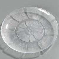 Carlisle 695607 Petal Mist 8 7/8 inch Clear Plate