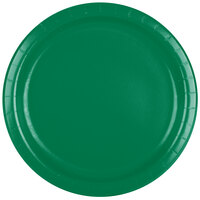 Creative Converting 47112B 9 inch Emerald Green Paper Dinner Plate - 240/Case