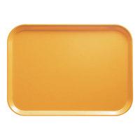 Cambro 1418171 14 inch x 18 inch Rectangular Tuscan Gold Fiberglass Camtray - 12 / Case