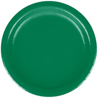 Creative Converting 79112B 7 inch Emerald Green Paper Lunch Plate - 240/Case