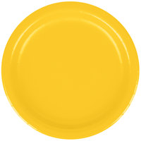 Creative Converting 791021B 7 inch School Bus Yellow Paper Plate - 240 / Case