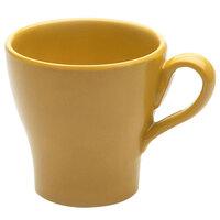 Elite Global Solutions D4C Tuscany 14 oz. Mustard Yellow Melamine Mug