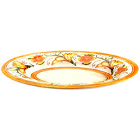 Elite Global Solutions D1013OV Tuscany 15 inch Design Melamine Oval Platter