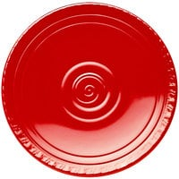 Elite Global Solutions V91 Hot Cha-Cha Red 9 inch Round Plate