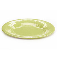 Elite Global Solutions D12P Tuscany 12 1/4 inch Weeping Willow Green Melamine Plate