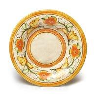 Elite Global Solutions D9PB Tuscany 14 oz. Design Melamine Soup / Pasta Bowl