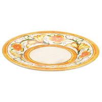 Elite Global Solutions D12P Tuscany 12 1/4 inch Design Melamine Plate