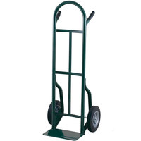 Harper 53T14 Continuous Dual Pin Handle 600 lb. Steel Hand Truck with 8 inch x 2 1/4 inch Solid Rubber Wheels
