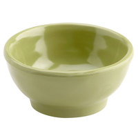 Elite Global Solutions D3C Tuscany 2 oz. Weeping Willow Green Melamine Ramekin