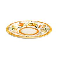 Elite Global Solutions D6P Tuscany 6 1/4 inch Design Melamine Plate