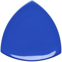 Elite Global Solutions D11T Triangulation Winter Purple 10 1/4 inch Melamine Triangle Plate