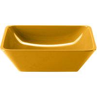 Elite Global Solutions M10SQ Belize Yellow 2.25 Qt. Square Melamine Bowl