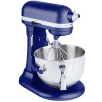 KitchenAid KP26M1XBU Cobalt Blue Professional 600 Series 6 Qt. Countertop Mixer