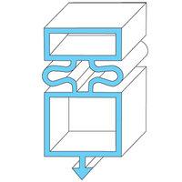 True Refrigeration 810801 Equivalent Magnetic Door Gasket - 25 1/8 inch x 54 1/8 inch