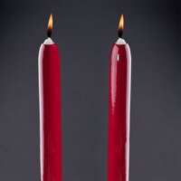 Will & Baumer 8 inch Red Chace Candle 2 / Pack