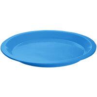 Tablecraft CW3325SBL Sky Blue Cast Aluminum Round Dessert Plate