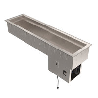 Vollrath 36659 Short Side Four Pan Drop In Refrigerated Cold Food Well
