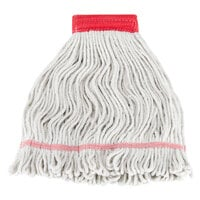 Continental A05001 16 oz. Poly/Cotton Loop End Wet Mop Head with 5 inch Band