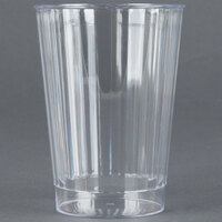 Fineline Renaissance 2412 12 oz. Clear Hard Plastic Crystal Tumbler - 240 / Case