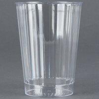 Fineline Renaissance 2412-CL 12 oz. Clear Hard Plastic Crystal Tumbler - 20 / Pack