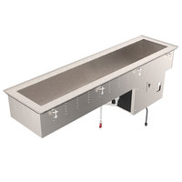 Vollrath 36655 Standard Short Side Three Pan Drop In Refrigerated Cold Food Well