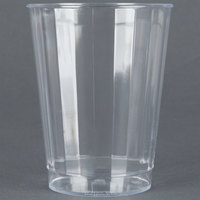 Fineline Renaissance 2410 10 oz. Clear Hard Plastic Crystal Tumbler - 240 / Case