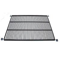 True 909164 Black Coated Wire Shelf - 20 5/8 inch x 17 1/2 inch