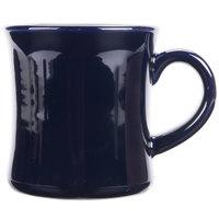 CAC HAR-75-CBU Cobalt Blue 7.5 oz. Venice Hartford Mug - 36/Case