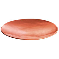 Tablecraft CW11009GG 20 inch x 3 1/2 inch Ginger Cast Aluminum Round Flared Platter