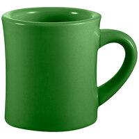 CAC HAR-75-G Green 7.5 oz. Venice Hartford Mug - 36 / Case