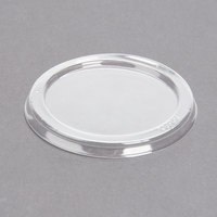 Durable Packaging P1400-1000 Clear Lid for 4 oz. Foil Cup - 1000/Case