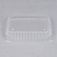 Durable Packaging P220-1000 Clear Dome Lid for 1 lb. Oblong Foil Pan - 1000/Case
