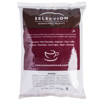 S'mores Flavored Cappuccino Mix - (6) 2 lb. Bags / Case - 6/Case
