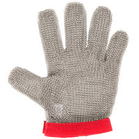 Victorinox 81503 saf-T-gard Red Cut Resistant Stainless Steel Mesh Glove - Medium