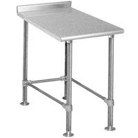 Eagle Group UT3012STEB 12 inch x 30 inch Equipment Filler Table