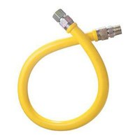 48 inch Dormont 1675NPFS PVC Coated Stationary Gas Connector - 3/4 inch Diameter