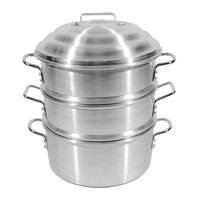 Town 34416SDP 16 inch Aluminum Clam Steamer Set