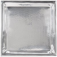 American Metalcraft HMSQ22 22 inch Hammered Square Tray