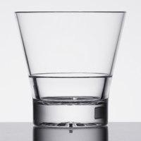 12 oz. Plastic Tapered Rocks Glass