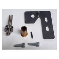 True 870893 Top Right Hinge Kit - 2 1/2 inch x 3 inch