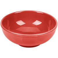 CAC MB-7RED Festiware Salad / Pasta Bowl 25 oz. - Red - 24/Case