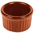 Tablecraft CW1655CP 6 oz. Copper Cast Aluminum Ramekin