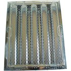 All Points 26-4611 20 inch x 16 inch x 2 inch Stainless Steel Hood Filter with Hook and Spark Arrestor - Kleen-Gard